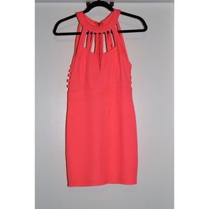 A'Gaci Coral mini dress